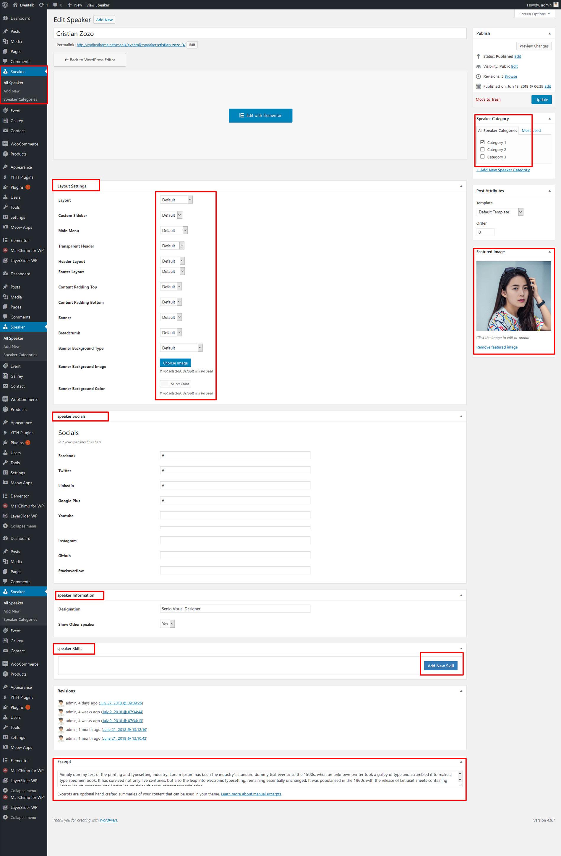 Documentation - Eventalk | Responsive Event WordPress Theme