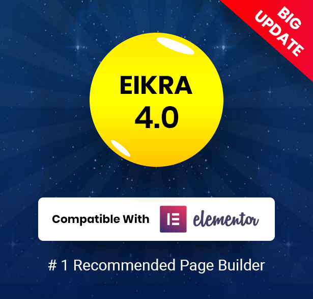 Eikra theme by Elementor